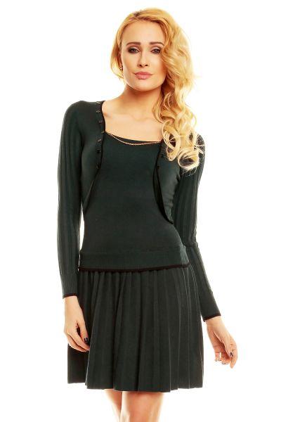 Kleid Finery SW615<br>dunkelgrün