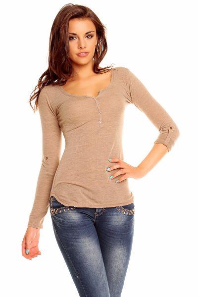 Shirt Vintage<br>Dressing 8820 brown