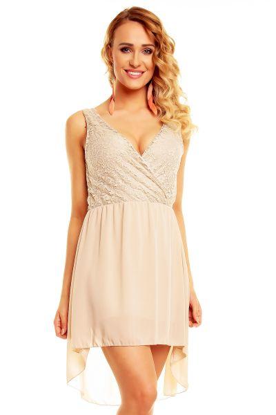 Dress 91012 beige