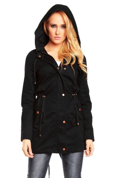 Jacket Coat Parka<br>Mayaadi HS-307 black