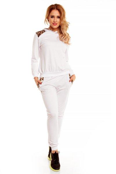 Jogging Chic Et<br> Jeune 5901<br>white-brown leo