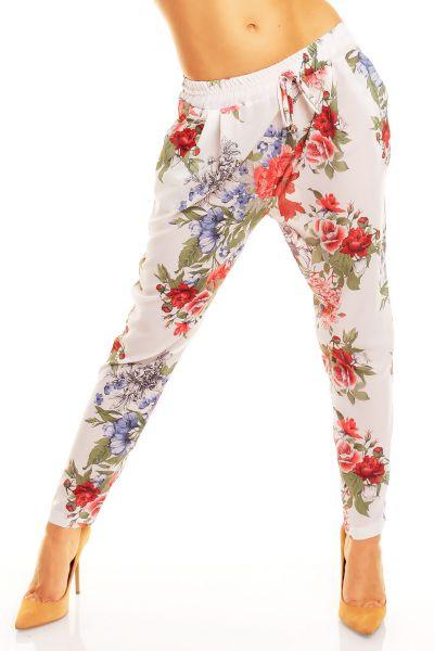Pants Se Sebo<br>white 2401 Flower