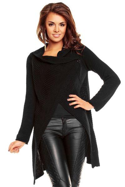 Poncho Vest Lacomy<br>3100 zwart