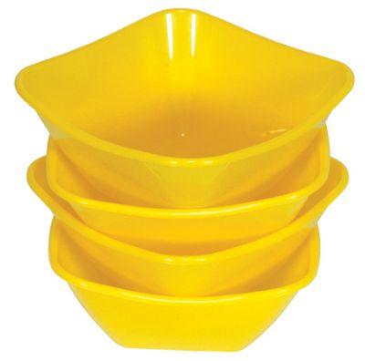 4 Salatschälchen<br>0,34 L, 135x135 mm,