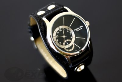 WATCH CHARLES<br>BLACK 4148 DELON