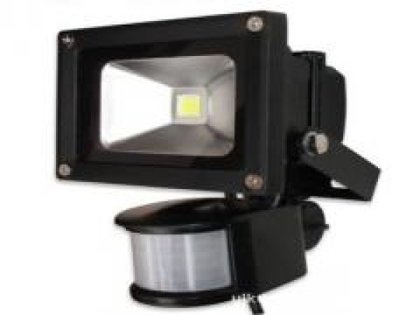 LED Floodlight 50<br>Watt, motion, ww