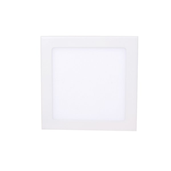 15 Watt, Surface<br> LED panel, square,<br>white