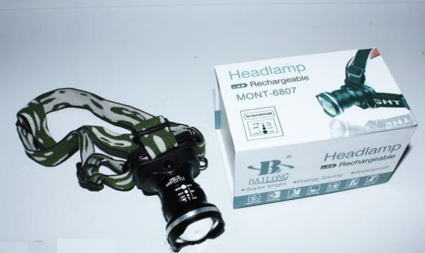 TORCH END ZOOM<br>CREE Q5 LED 650 m