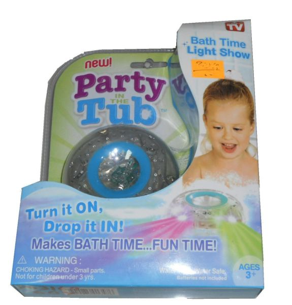 Bad-Spielzeug-LED<br>- Party Tub