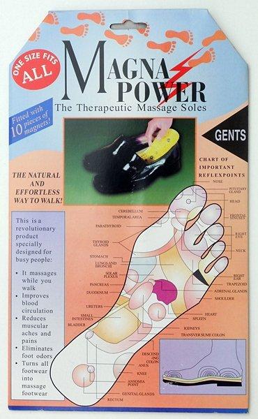 Magnetische<br> Einlegesohlen für<br>Schuhe