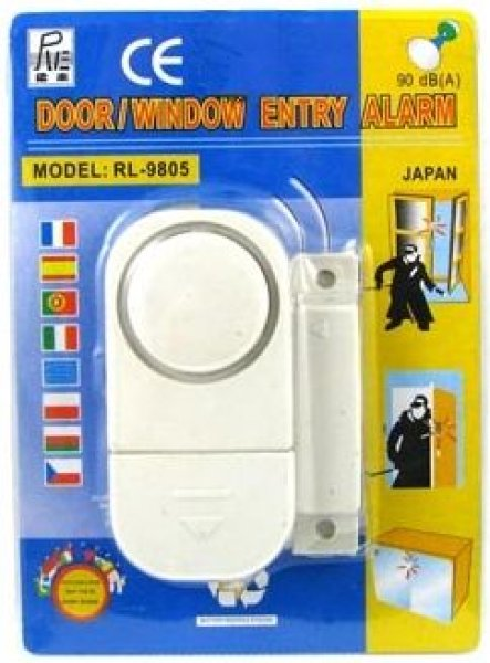 SENSOR ALARM FOR<br>DOORS AND WINDOWS