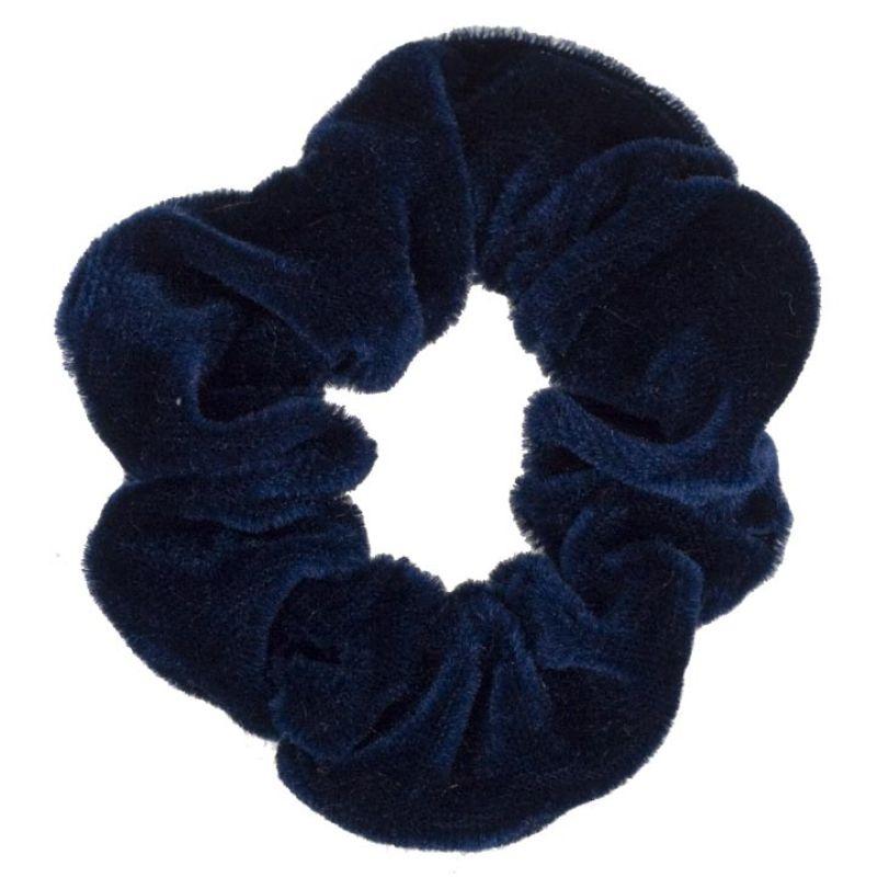 Niebieski krawat<br>włosy velvet