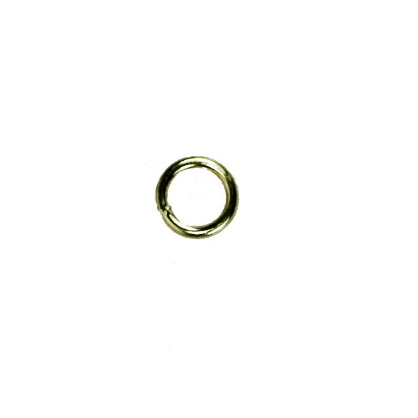 Jump rings, 6x1mm,<br>200 grams