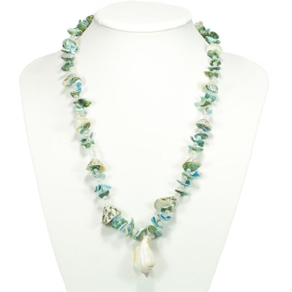 Shell necklace for<br>hobbyists, 63cm