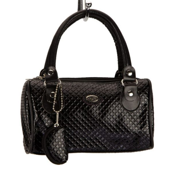 Mała torebka de<br>Luxe, Czarny