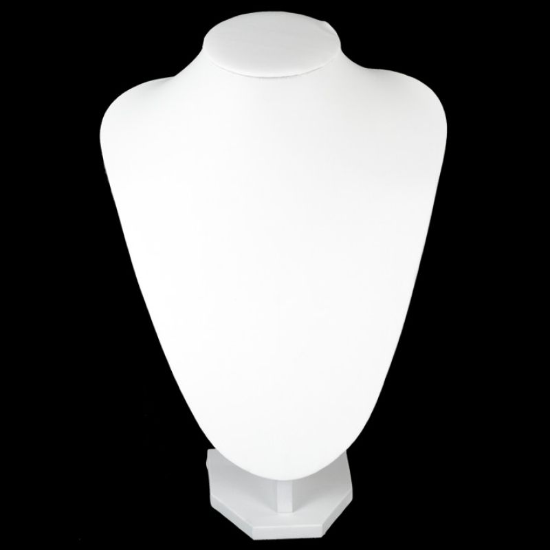Jewelry Bust<br>Medium, White