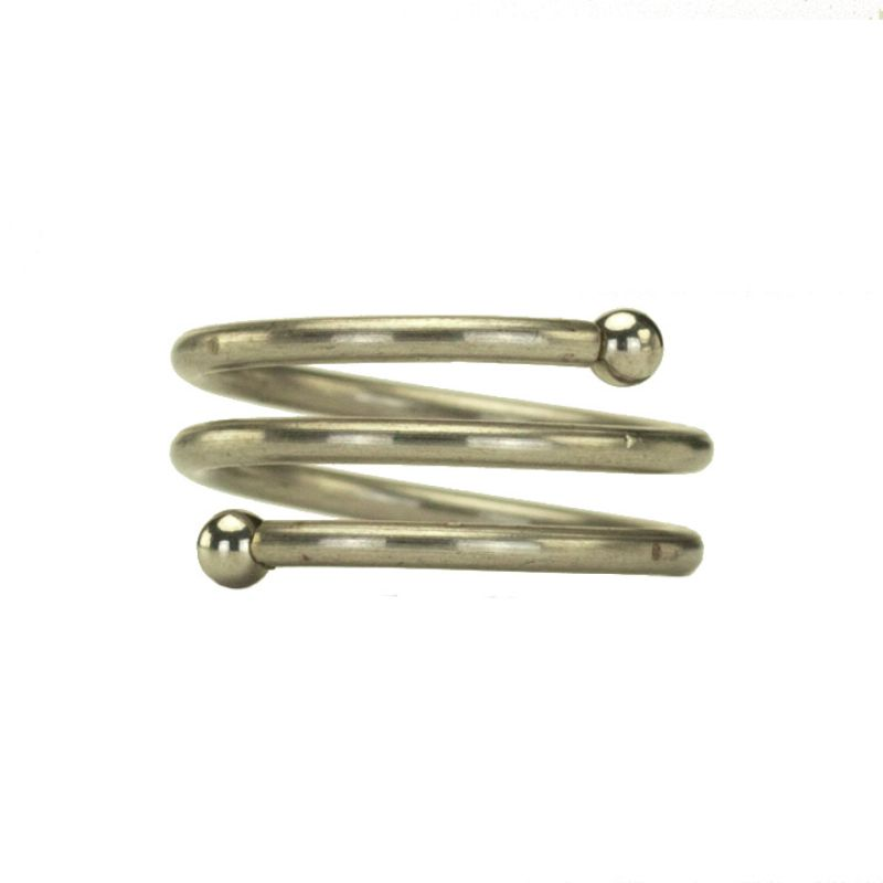 Stainless steel<br>spiral ring
