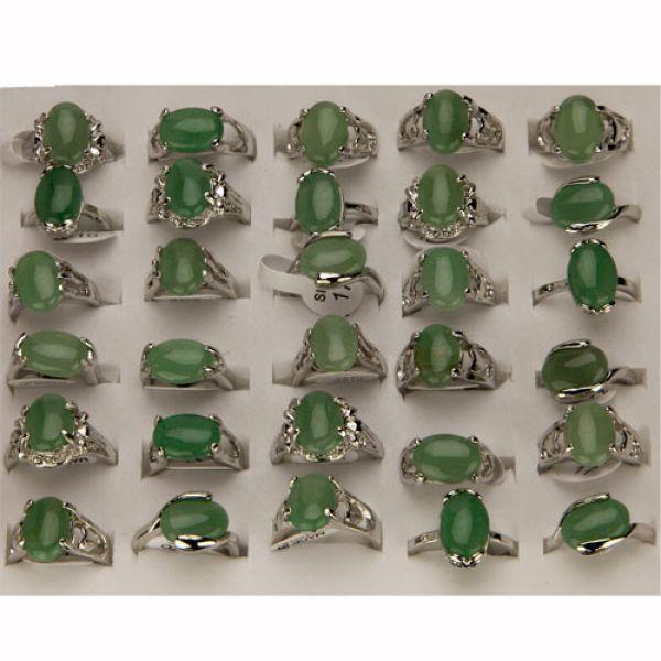 Range rings Green<br>Aventurine