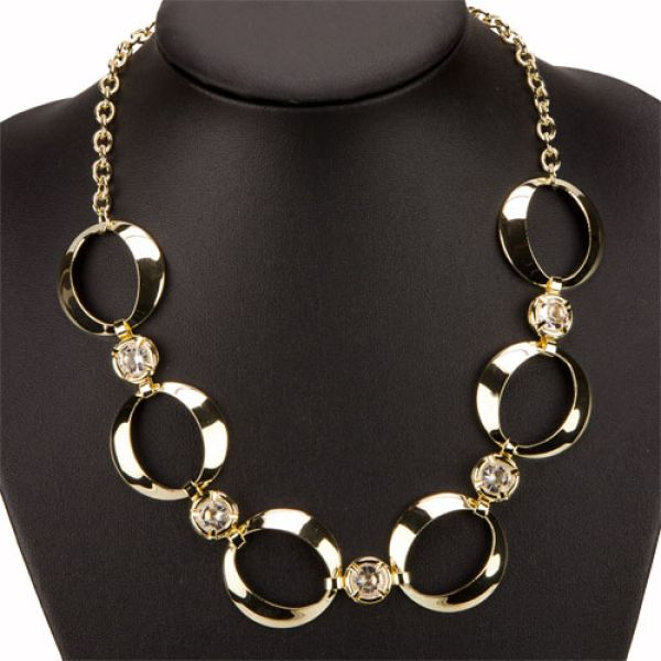 Fashionable<br>Necklace, Gold