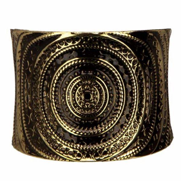 Bracelets, 50cm,<br>gold-black