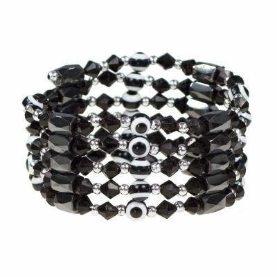 Open magnet Chain<br>Eye, Black