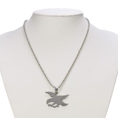 Stainless steel<br> necklace with<br>pendant