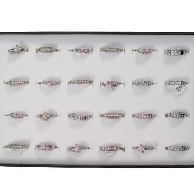 Range rings with<br>rhinestones