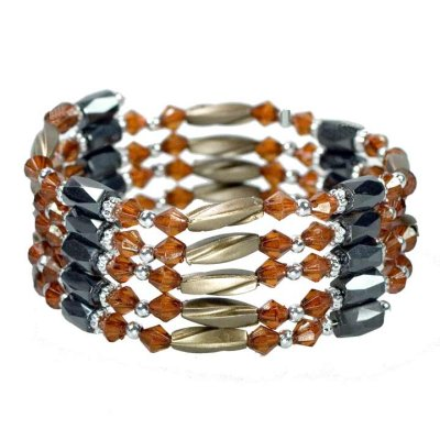Open magnetic<br>chain, gold-brown