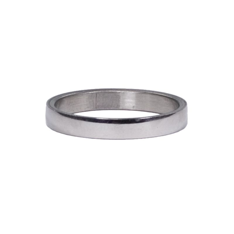 Stainless steel<br>ring, 3mm round