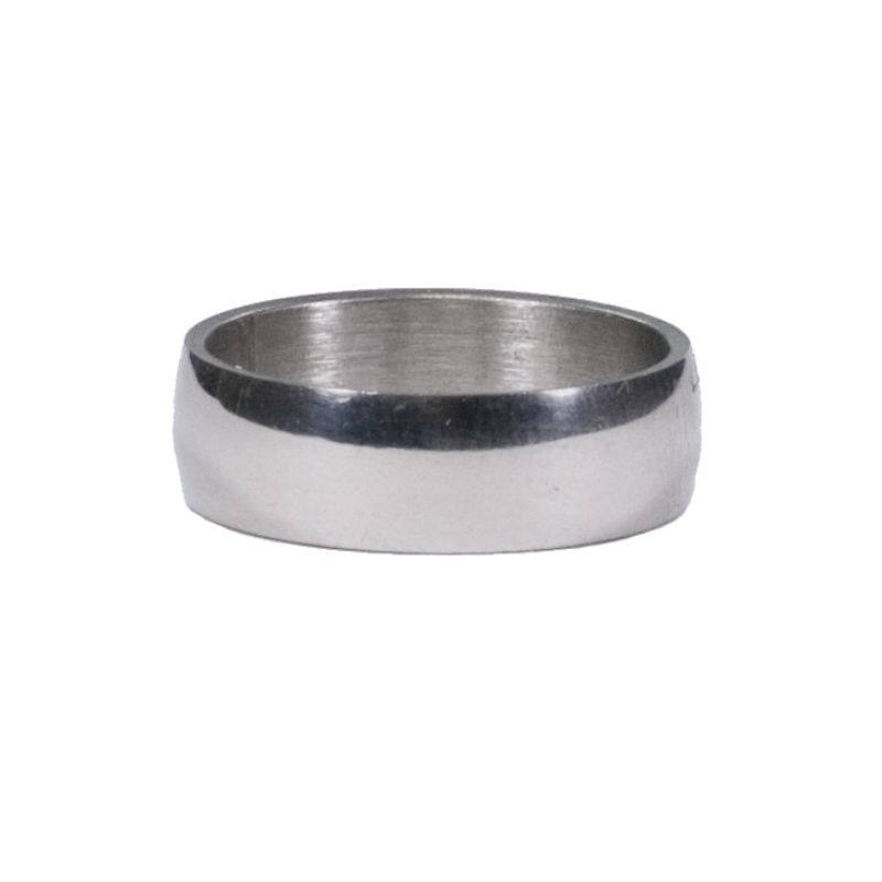Stainless steel<br>ring, 6mm round