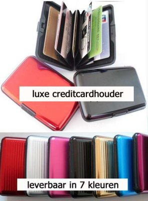 Credit Card Holder<br>Aluminum