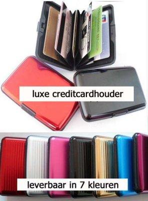 Credit Card Holder<br>Aluminum