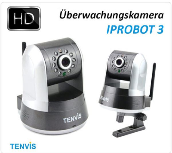 Surveillance<br>camera IP-Robot
