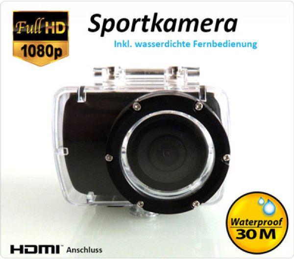 Full-HD<br>Sportkamera 1080P