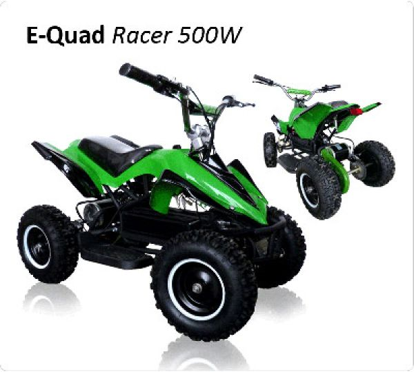 Electric Quad 500W<br>- Racer