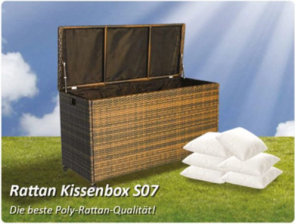 Rattan cushion box S07
