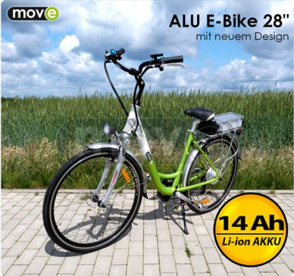 ALU 14Ah electric<br>bike 28