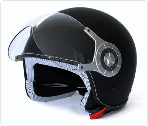Retro-Helm matt