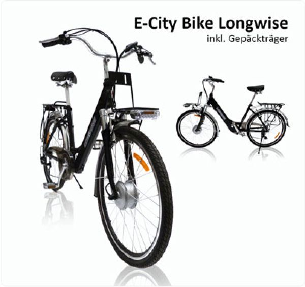 Longwise City Bike 250W