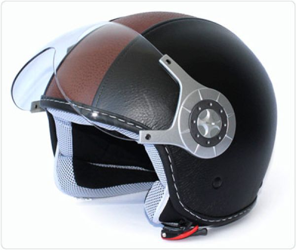 Retro Helmet Leather