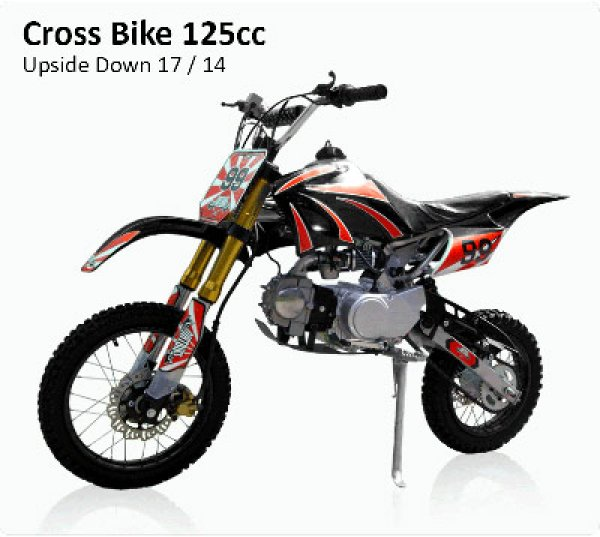 Cross Bike 125cc - 17/14