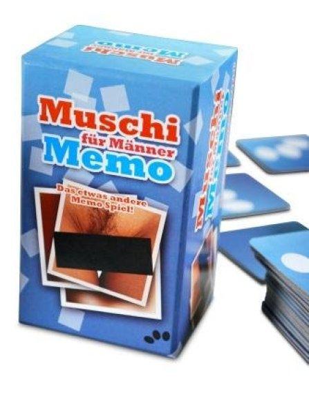 Pussy memo board game