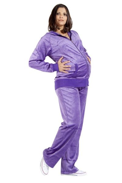 Nicki&#39;s<br> Maternity Wellness<br>purple suit