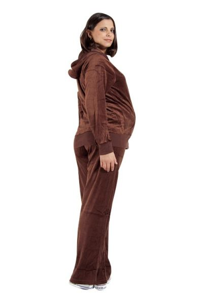 Nicki&#39;s<br> Maternity Wellness<br>suit brown