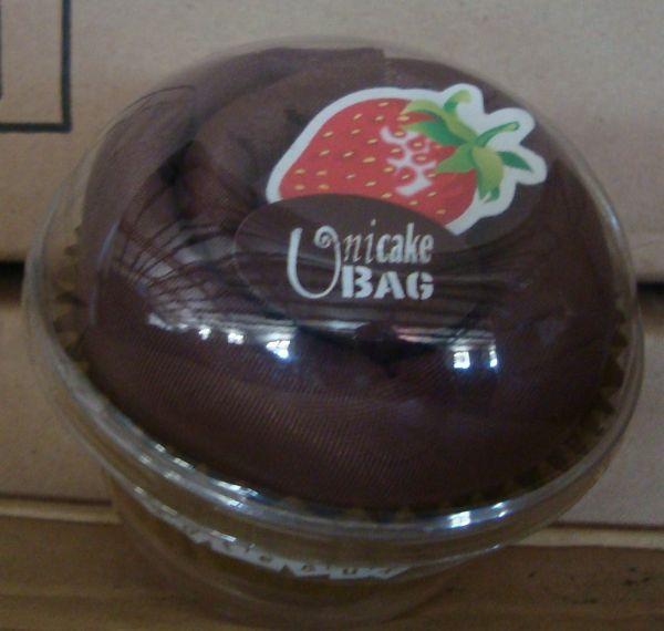 Geschenk Einkaufsbeutel Unicake Bag Torte braun