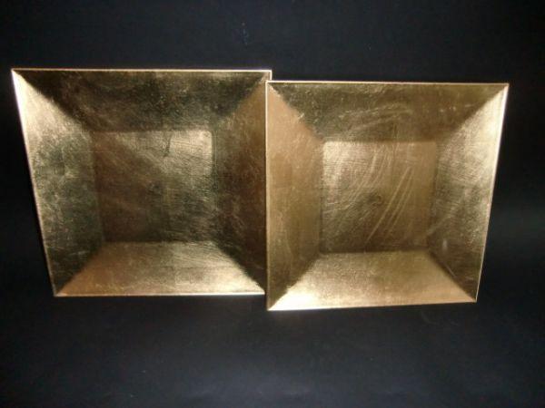 Advent Weihnachten<br> Platzteller Set<br>2tlg. gold