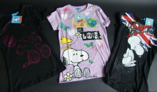 Mixposten Peanuts Snoopy T-Shirts Gr. S-L