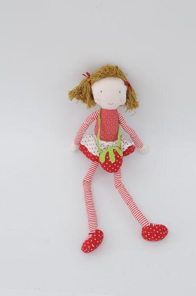 Kinder Spielzeug Puppe Erdbeere
