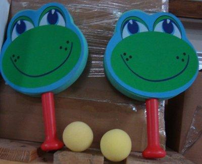 SonderpostenTennis<br> Spielset  Frosch <br>Kunststoff