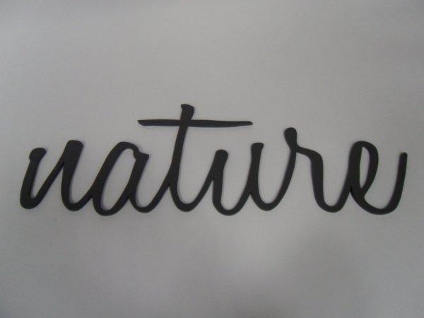 Dekoration Schriftzug